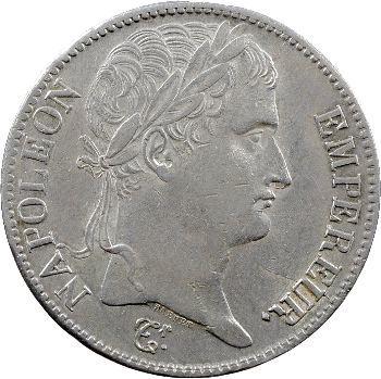 Premier Empire, 5 francs Empire, 1812 Nantes