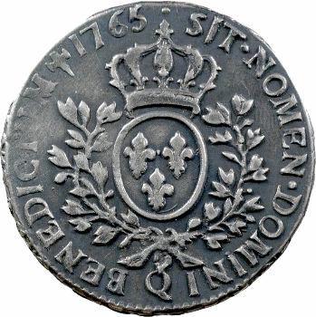 Louis XV, demi-écu au bandeau, 1765 Perpignan