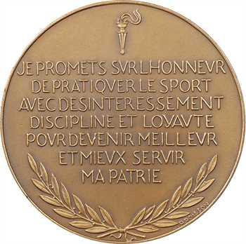 IIe Guerre Mondiale, Commissariat général à l'éducation et aux sports, par P.-M. Poisson, s.d. (1941) Paris