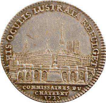 Paris, commissaire du Châtelet, Delamare, 1723 Paris