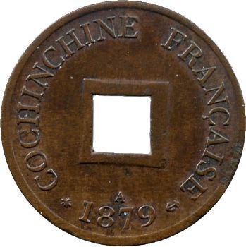 Cochinchine, Tu-Duc Thong-Bao, sapèque, 1879 Paris