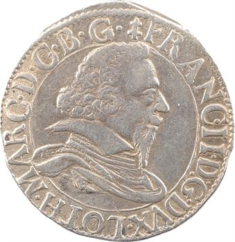 Lorraine, Salm (comté de), François II, teston, 1626 Badonviller