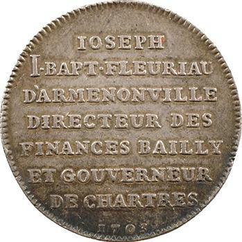 Chartres (ville de), Fleuriau D'Armenonville, gouverneur, 1703
