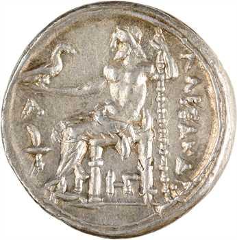 Macédoine, Alexandre le Grand, tétradrachme, Amphipolis, c.336-323 av. J.-C