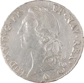 Louis XV, écu au bandeau, 1757 Perpignan