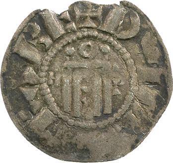 Orléanais, Orléans (vicomté d'), denier au nom de Hugues, c.1010-1025