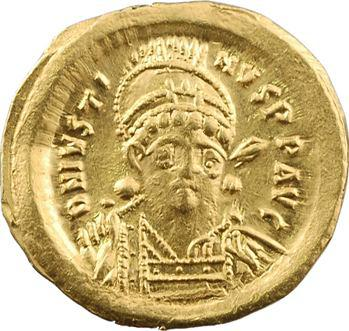 Justin Ier, solidus, Constantinople, 3e officine, 518-527