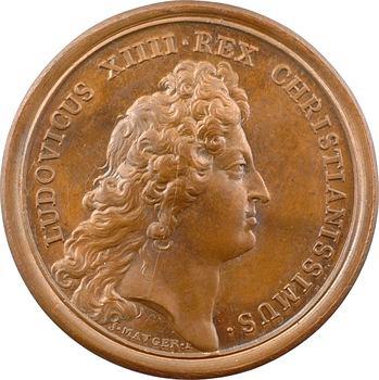 Pologne, Louis XIV, le Roi de Pologne reçu en France, par Mauger, 1669 Paris