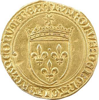 Charles VIII, écu d'or au soleil, 2e émission, Châlons-en-Champagne