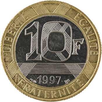 Ve République, 10 francs Génie de la Bastille, 1997 Pessac