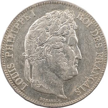 Louis-Philippe Ier, 5 francs IIe type Domard, 1840 Lille