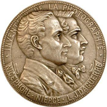 IIIe République, invention de la photographie, Niepce et Daguerre, par Soldi, 1904 Paris
