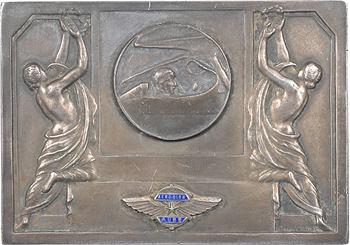 Aviation : aéro-club de l'Aube, en argent, par Fraisse, s.d. Paris