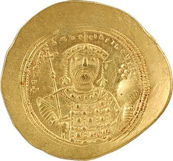 Constantin IX, Histaménon nomisma (scyphate), Constantinople, 1042-1055