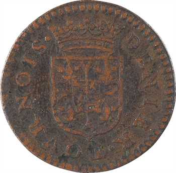 Charleville (principauté de), Charles Ier, denier tournois 1er type, 1609 Charleville