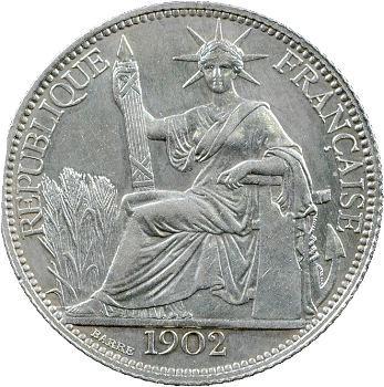 Indochine, 20 centièmes, 1902 Paris