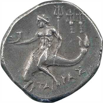 Calabre, Tarente, didrachme au nom de Philoclès, 235-228 av. J.-C.