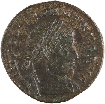 Constantin Ier, nummus, Trèves, 317