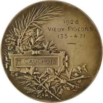 Borrel (A.) : Concours de Vieux Pigeons, édité par Desaïde, 1928 Paris