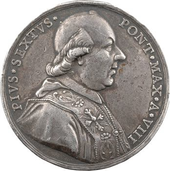 Vatican, Pie VI, visite à Augsbourg, An VIII (1782) Rome