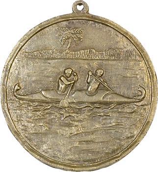 Tahiti, médaille de la fédération française de pirogues