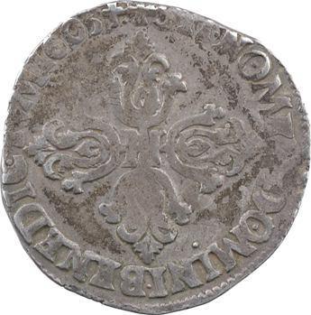 Henri IV, demi-franc, 1605 Lyon