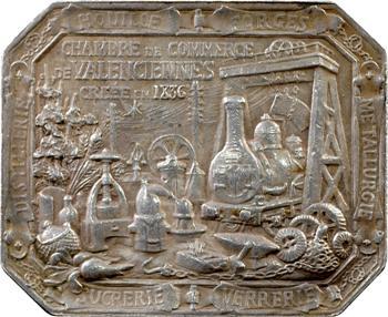 Theunissen (C.) : Chambre de commerce de Valenciennes, en argent, 1897 Paris