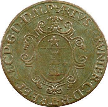 Dauphiné, Arthus Prunier, receveur général des comptes, s.d