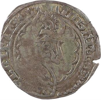 Bretagne (duché de), Jean IV, gros à l'écu heaumé, s.d. (c.1370-1373) Vannes