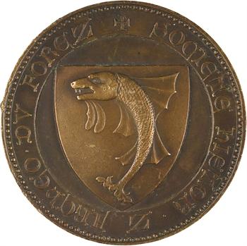 IIIe République, Société Archéologique du Forez, s.d. (frappe moderne)