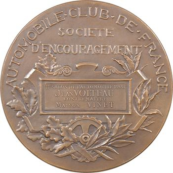 Automobile : Automobile Club de France, Maison Vinet, salon de 1908, par Daniel-Dupuis, 1908 Paris