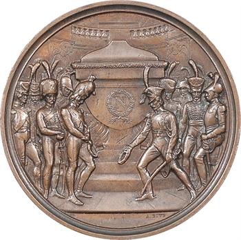 Second Empire, inauguration du tombeau de Napoléon Ier, édité par Lamy ex-garde impérial, 1861 Paris