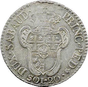 Savoie (duché de), Victor-Amédée III, 20 soldi, 1795 Turin
