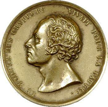 Premier Empire, Maximilien Sébastien Foy, médaille-boîte, vers 1825