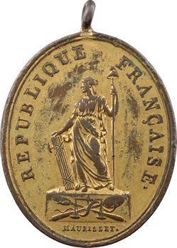 Convention, insigne d'huissier au Tribunal de première instance, s.d. (1793)