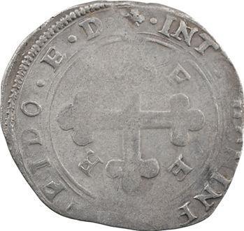 Savoie (duché de), Emmanuel-Philibert, blanc de 4 soldi, 2e type, 1577 Bourg-en-Bresse