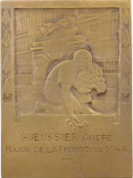 IVe République, École Centrale des Arts et Manufactures, au Major Gueussier, par Lamourdedieu, 1946 Paris