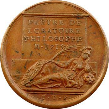 Nicolas de Malebranche, médaille par J. Dassier