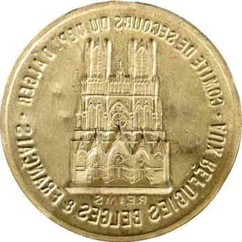 IIIe République, aide des Algérois aux réfugiés de Reims (c.1918)