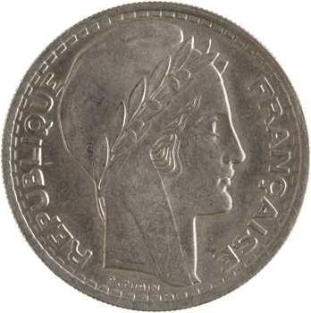 Gvt provisoire, 10 francs Turin, grosse tête aux rameaux longs, 1946 Paris