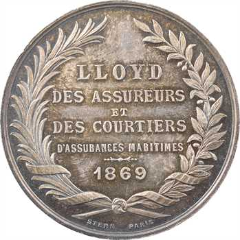 Second Empire, assurances maritimes et courtiers Lloyd à Marseille, 1869 Paris
