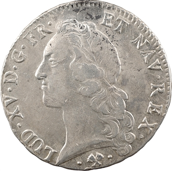 Louis XV, écu au bandeau, 1765 Bayonne