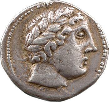 Péonie (Royaume de), Patraos, tétradrachme, imitation ?, Damastion, c.335-315 av. J.-C.