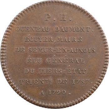 Bourgogne, Gueneau d'Aumont général du Tiers État, 1789 Paris