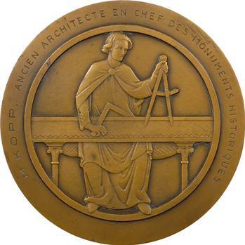 Turin (P.) : l'Ange au Sourire de Reims, à M. Kopp, architecte, s.d. Paris