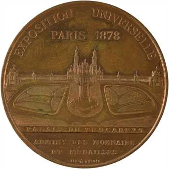 IIIe République, Exposition universelle internationale, par Oudiné et Dubois, 1878 Paris