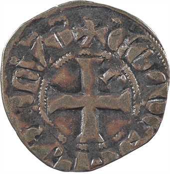 Bretagne (duché de), Arthur II, denier, s.d. Nantes