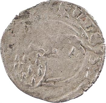 Bretagne (duché de), Jean IV, double à l'hermine, s.d. (c.1365-1373)