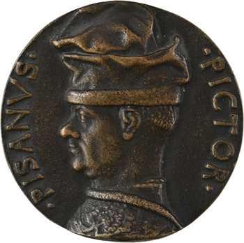 Italie, Antonio Pisano dit Pisanello, par Pisanello ou Marescotti, fonte uniface, s.d
