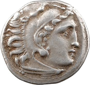 Macédoine, Alexandre le Grand, drachme, Colophon, c.323-319 av. J.-C.